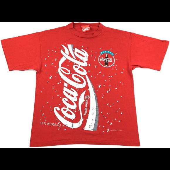 Coca Cola Other - 1994 CocaCola All Over Print Graphic Single Stitch